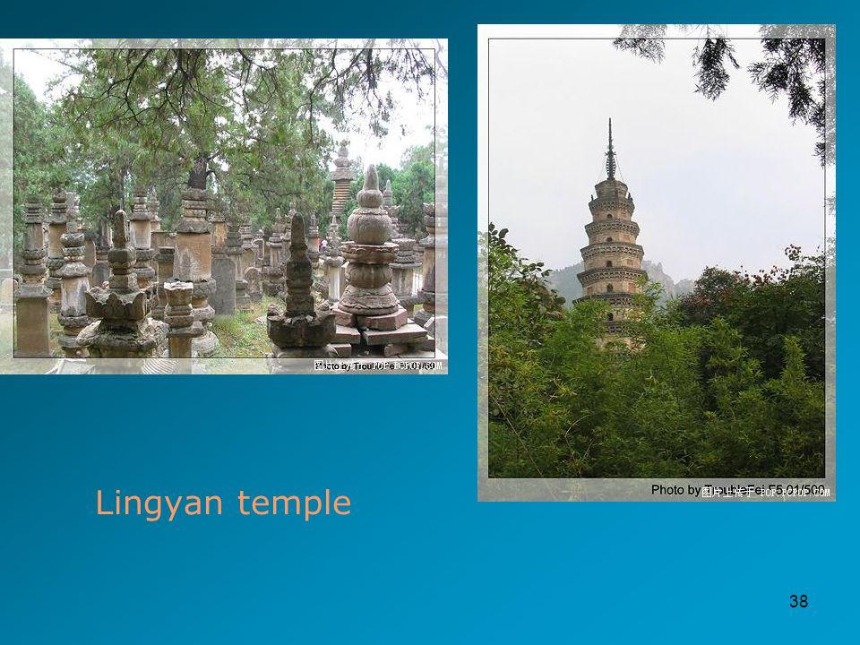 38 Lingyan temple