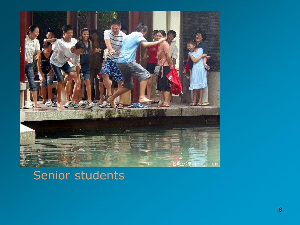 6 Senior students