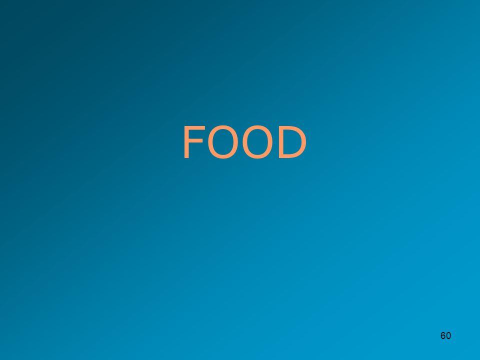 60 FOOD