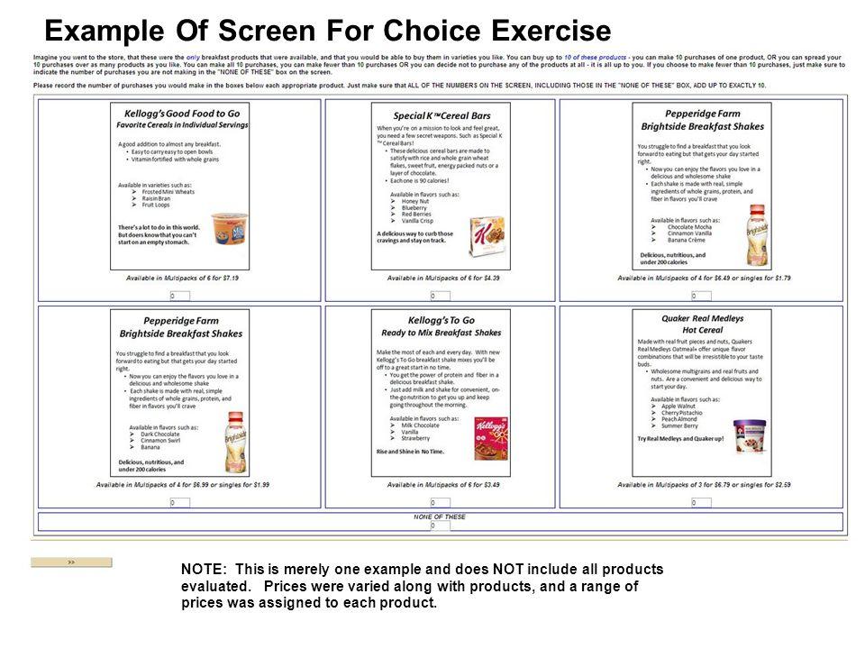 25 Share of Choice RTD Shake Users vs.