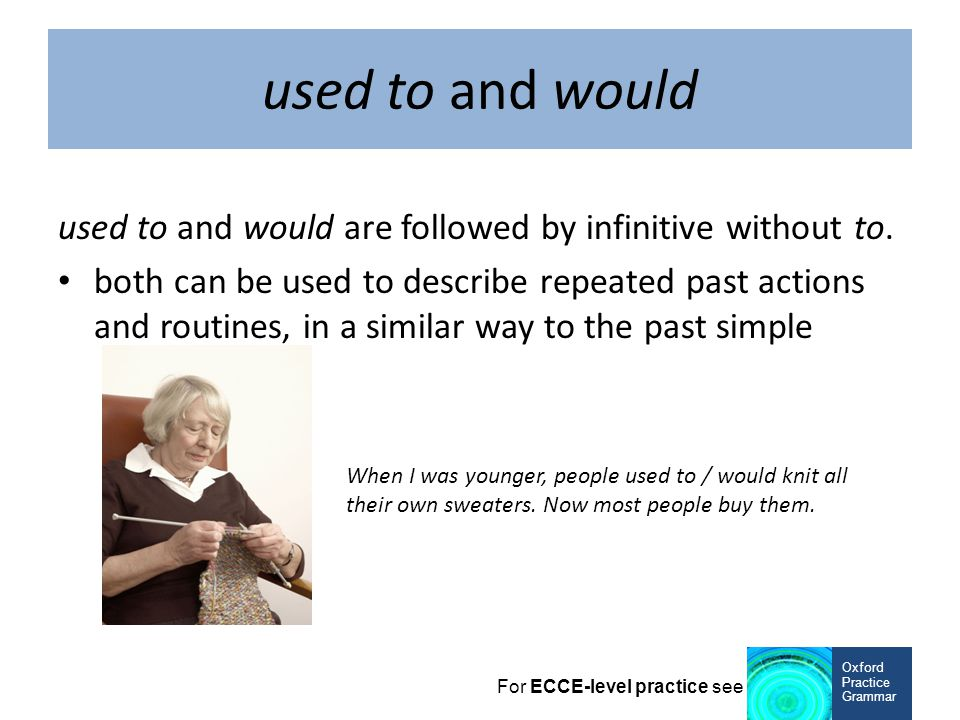 present perfect simple: use to talk about life experiences, often with ever or never Oxford Practice Grammar For ECCE-level practice see Have you ever done bungee jumping.