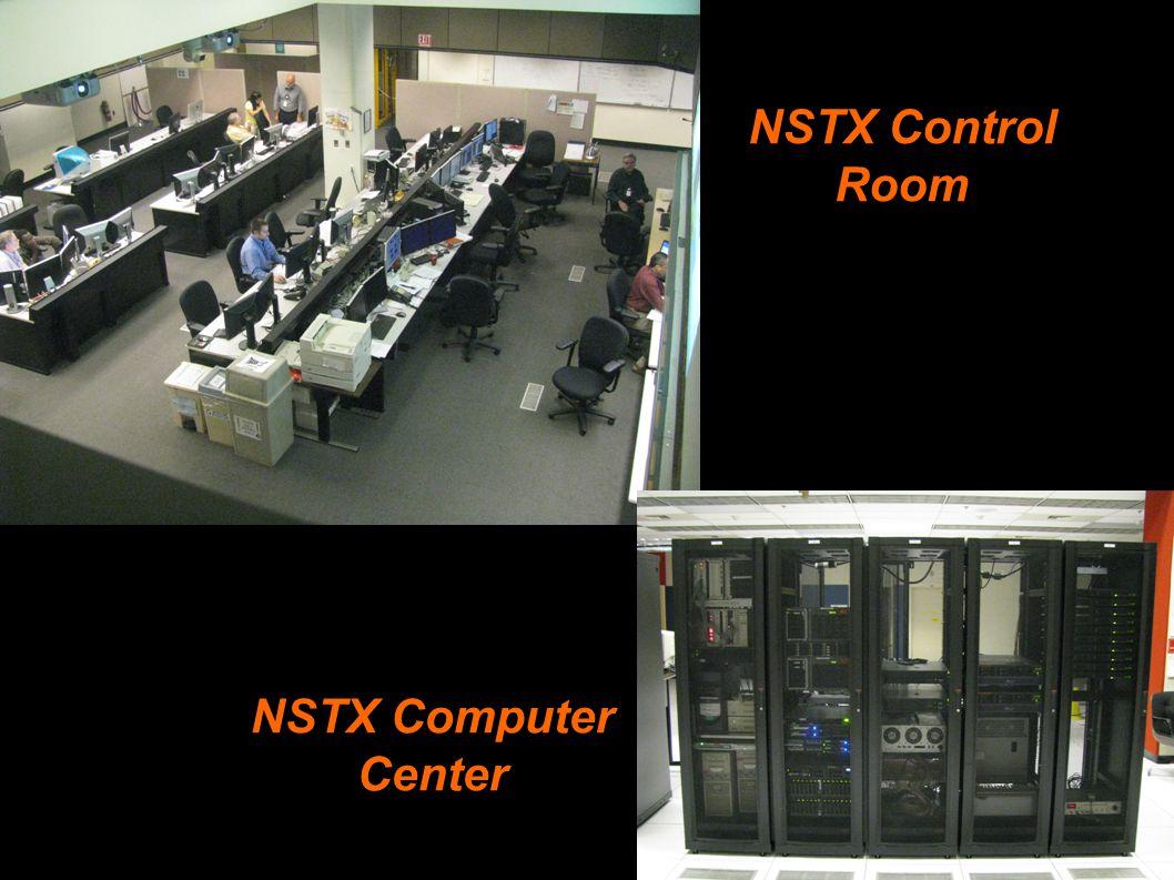 NSTX Control Room NSTX Computer Center