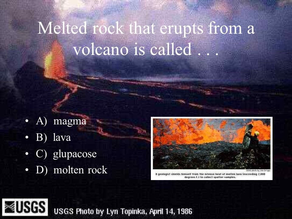 Where do volcanoes erupt.A) In the middle of the earth's plates, hotspots.