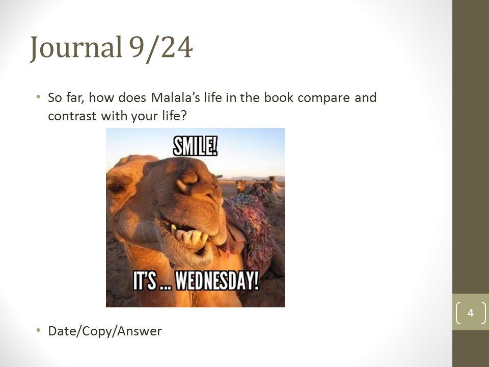 Journal 9/26 Study!!! 5