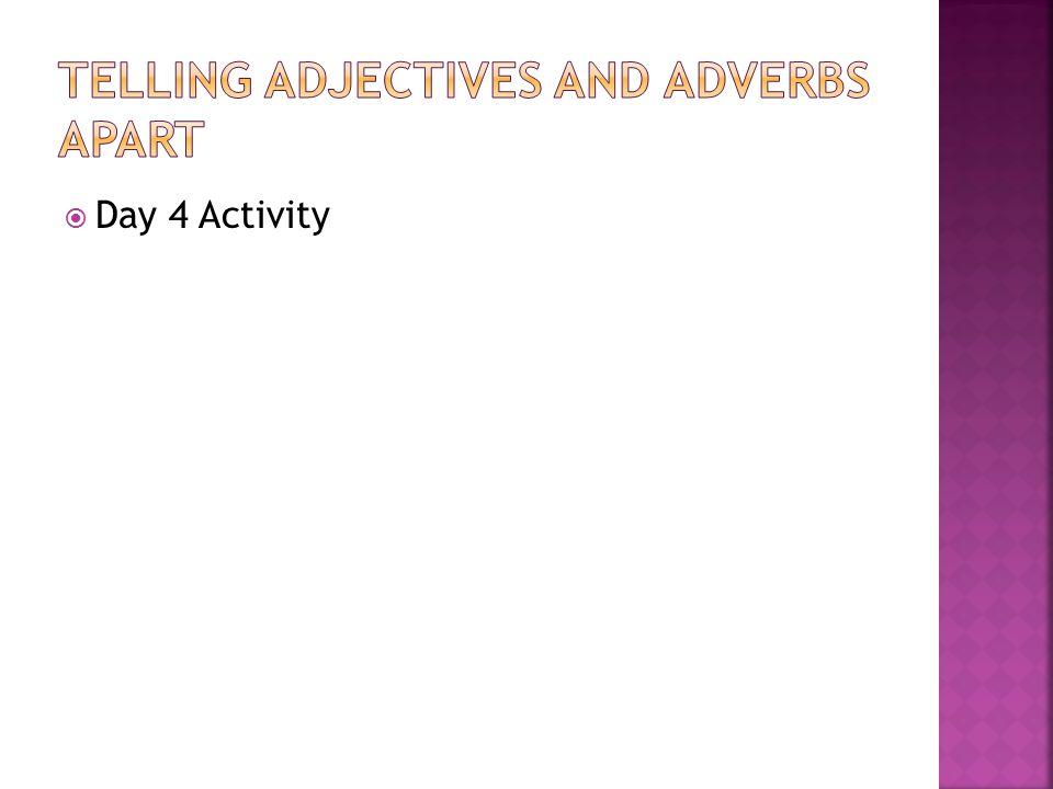  Day 4 Activity