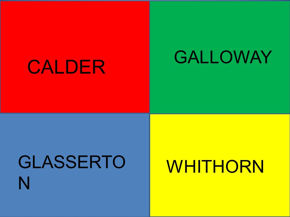 GALLOWAY CALDER GLASSERTO N WHITHORN
