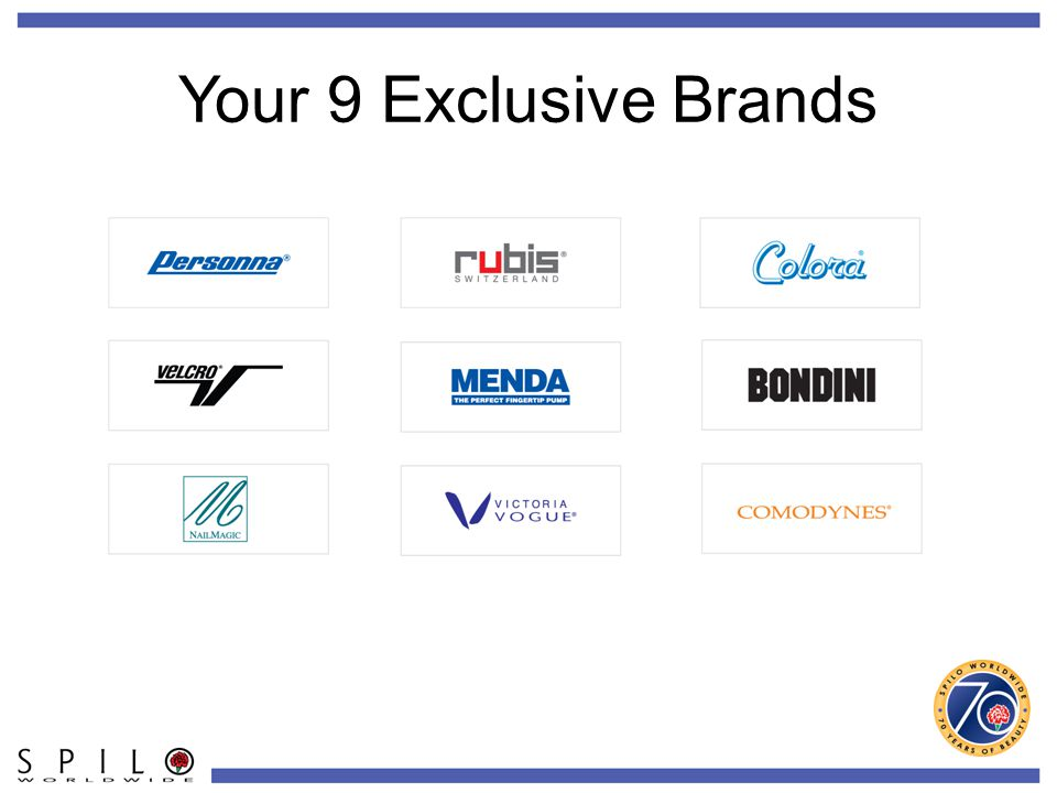 Your 9 Exclusive Brands