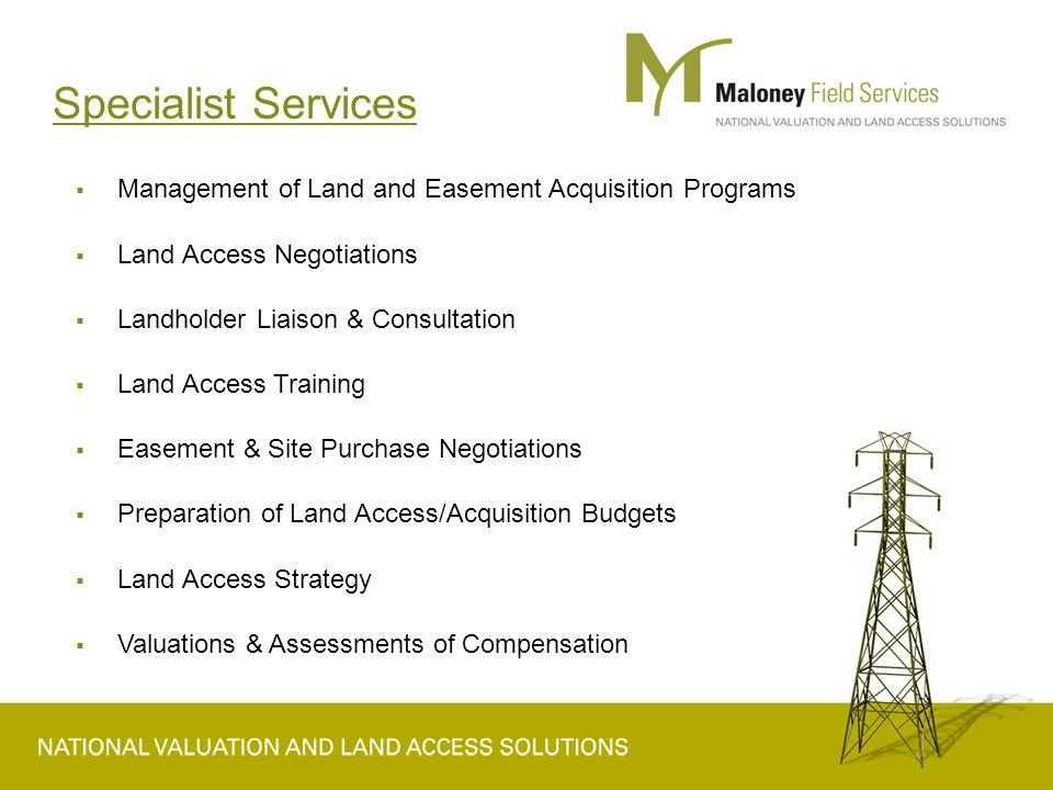 Assessment and Engagement  Be prepared  Know the market and the locality  Provide detailed project information and plans  Take time to understand the enterprise  Discuss methodology  Consultation and engagement WORKS not models.