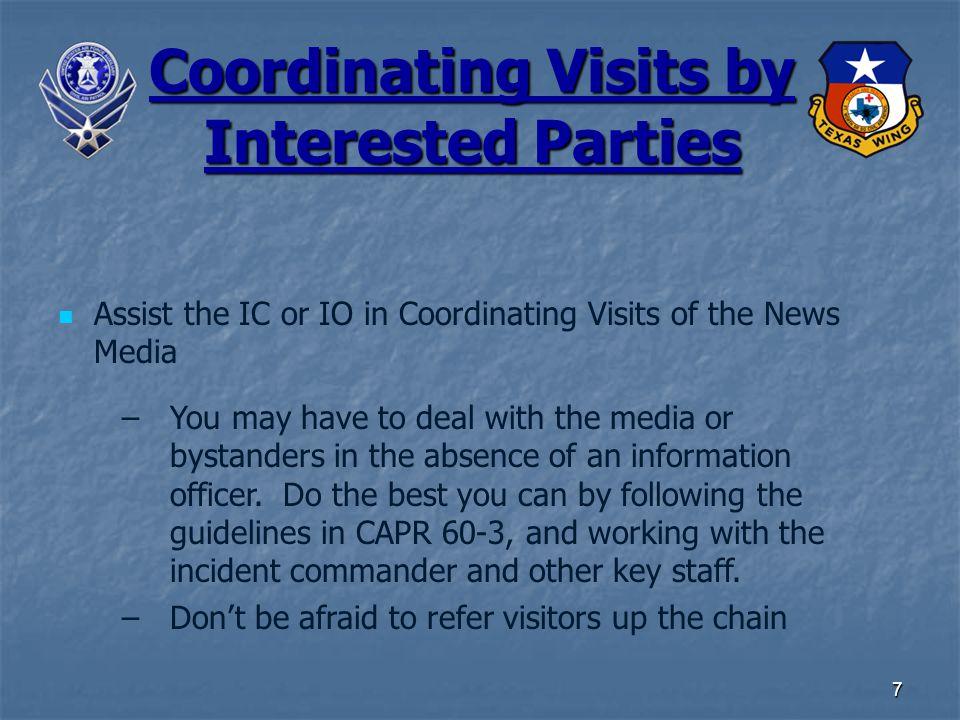 8 Memoranda of Understanding CAP has many ES partner agencies.