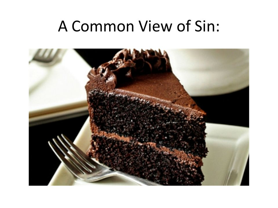 A Common View of Sin: