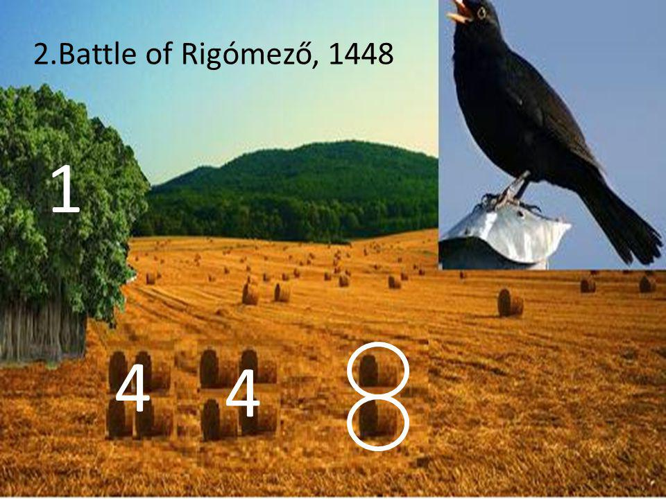 1 4 4 2.Battle of Rigómező, 1448