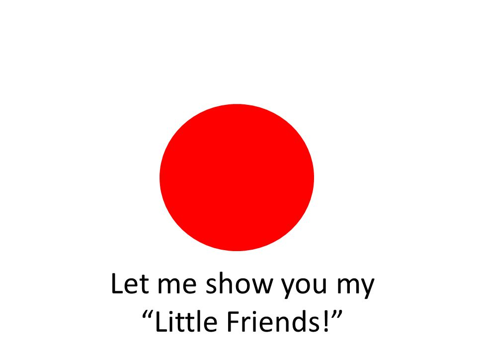 Let me show you my Little Friends!