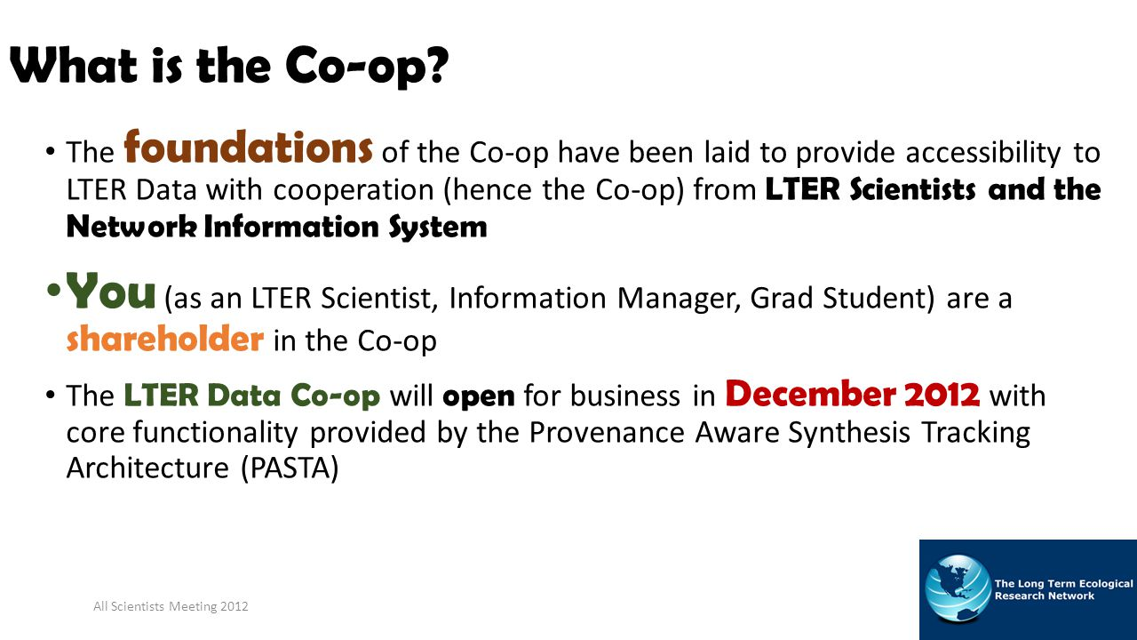 What is the Co-op.