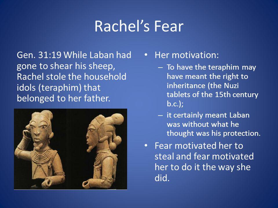 Rachel's Fear Gen.