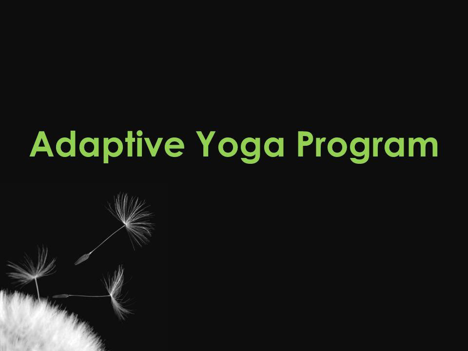 Adaptive Yoga Program