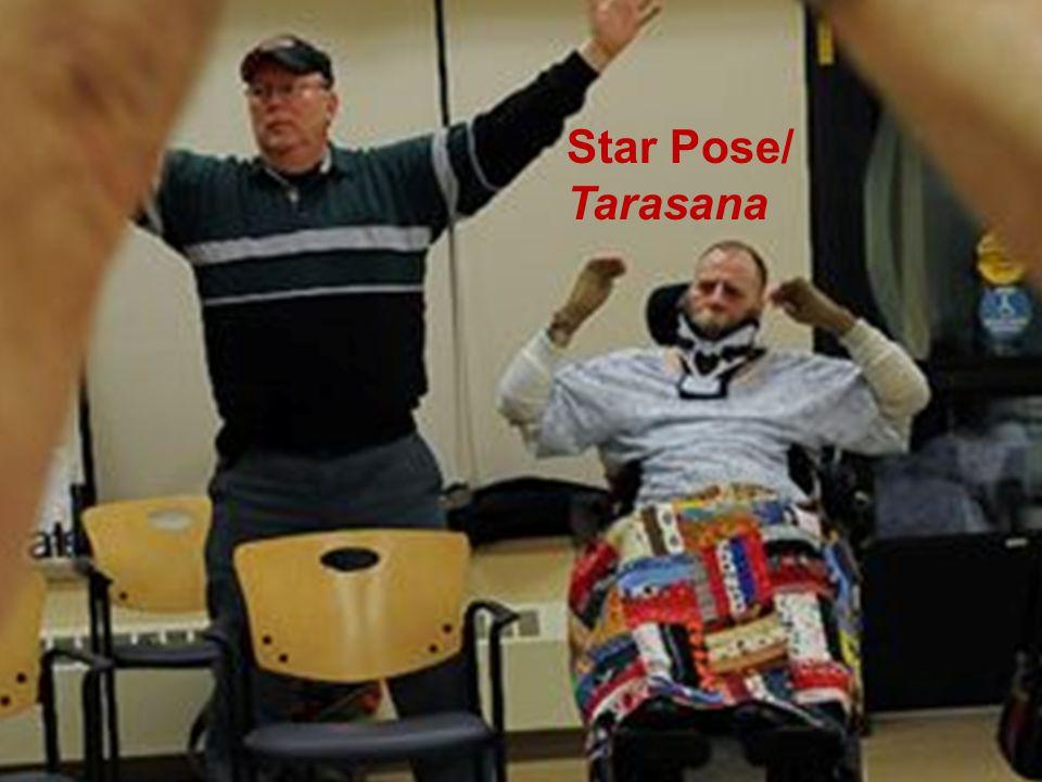 Adaptive Yoga Star Pose/ Tarasana