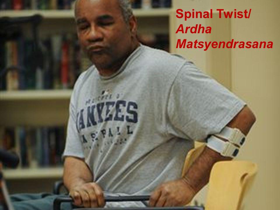 Adaptive Yoga Spinal Twist/ Ardha Matsyendrasana