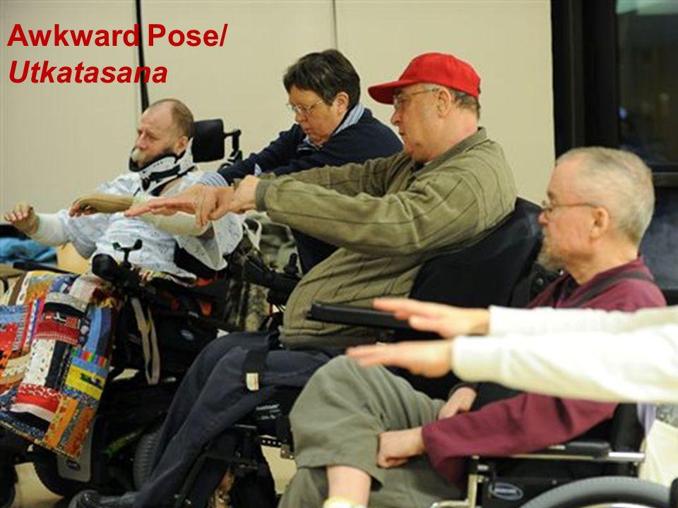 Adaptive Yoga Awkward Pose/ Utkatasana
