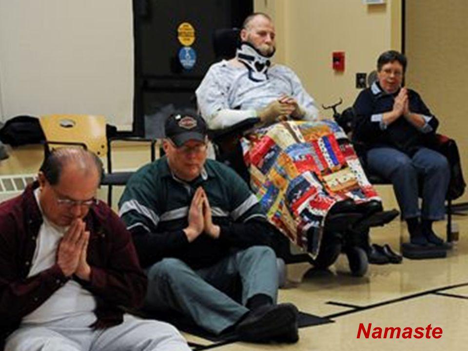 Adaptive Yoga Namaste