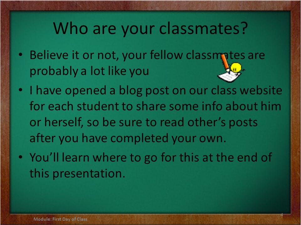 Not sure about an online class.