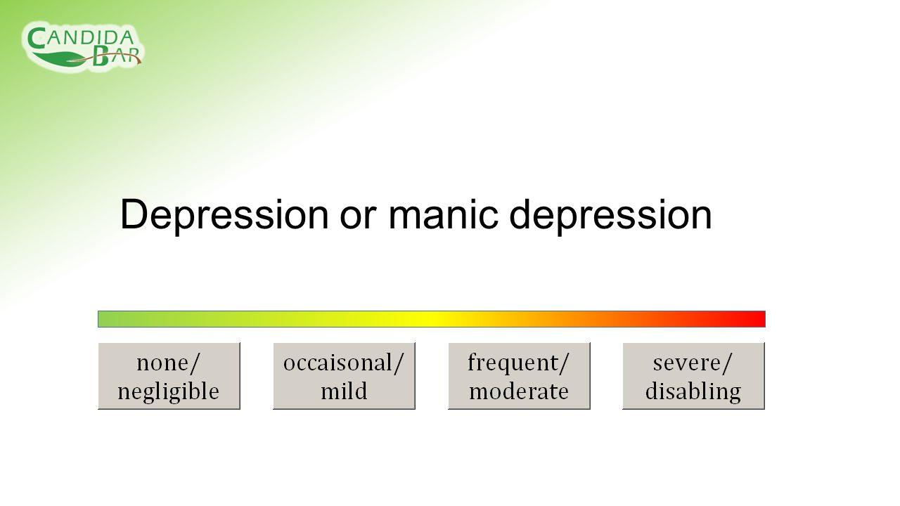 Depression or manic depression