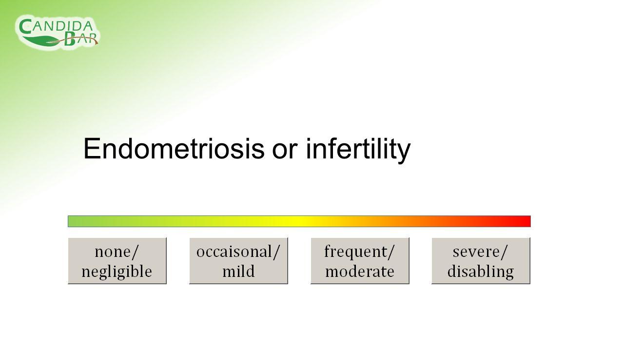 Endometriosis or infertility