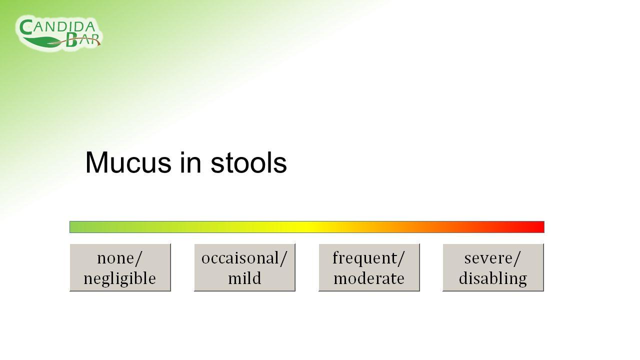 Mucus in stools