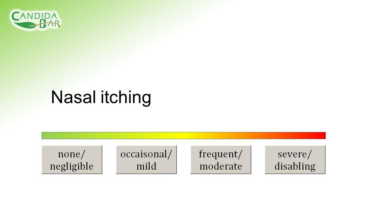 Nasal itching