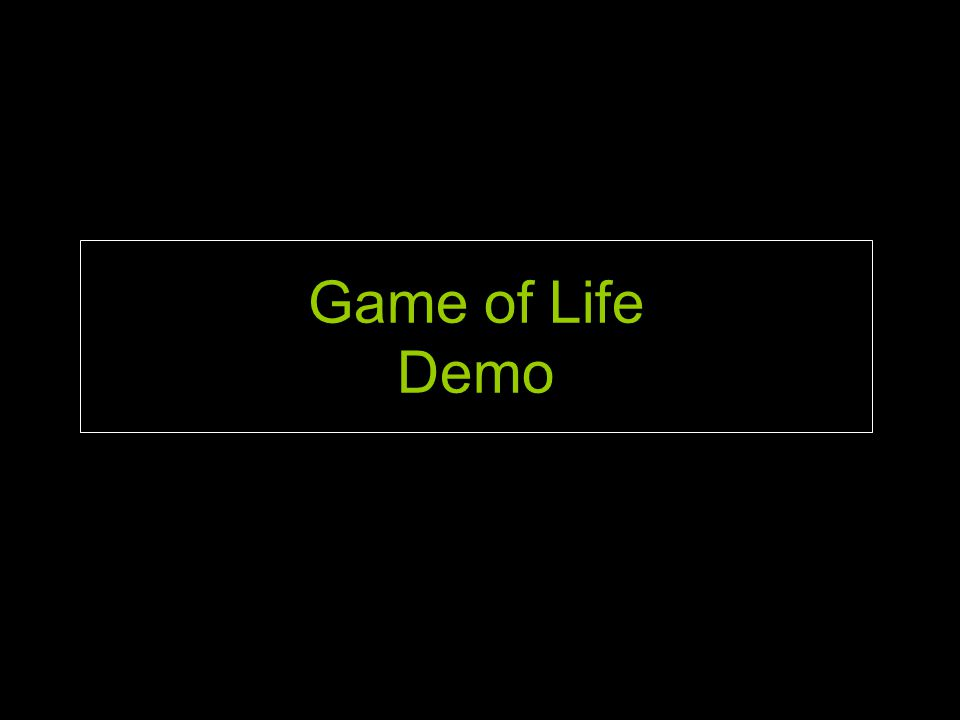 Game of Life Demo