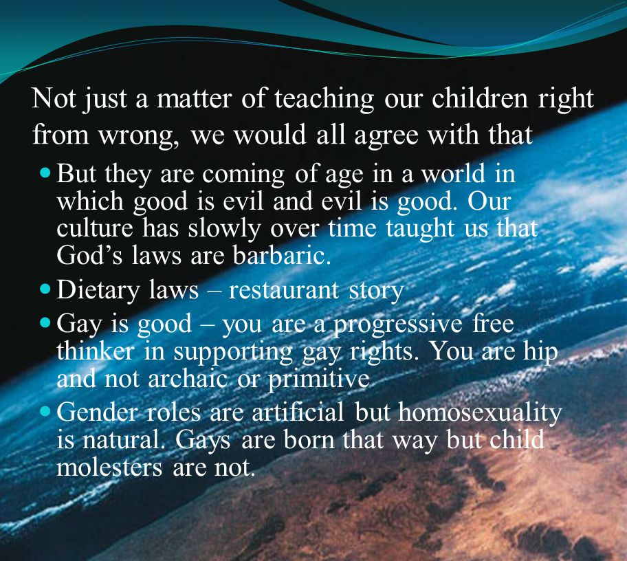 Abortion is good – you are not bringing an unwanted child into this cruel world.