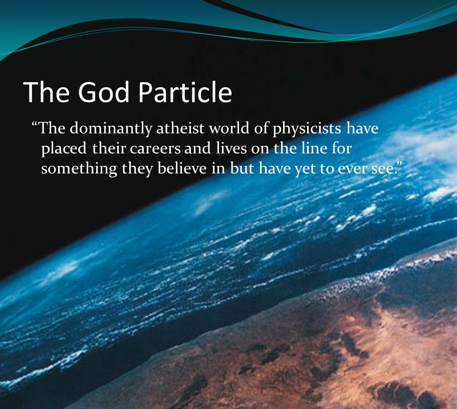The Particle  From the Latin pars.