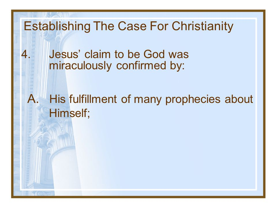 Objections to the Deity of Christ Why wasn't Jesus more overt in his claim to be God.