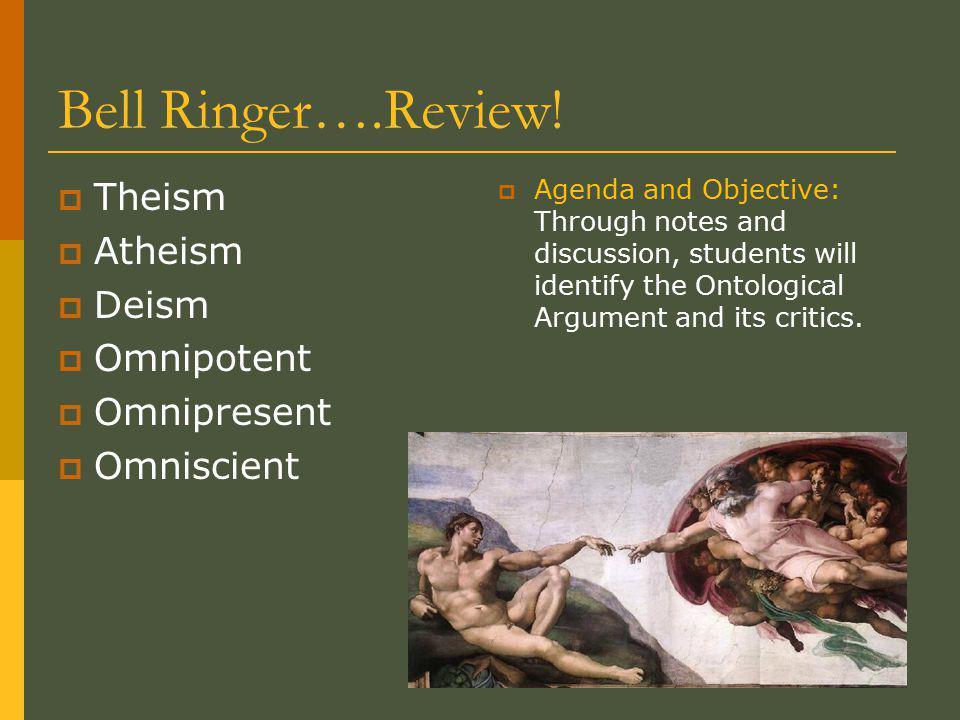 Bell Ringer….Review.