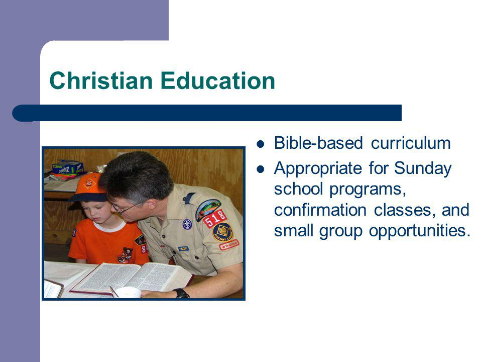 Bible-based curriculum Appropriate for Sunday school programs, confirmation classes, and small group opportunities.
