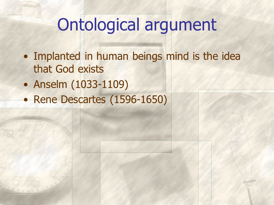 Cosmological argument Creation's majesty, order and wonder There must be a cause adequate to account for the universe Plato Thomas Aquinas (1225-1274)