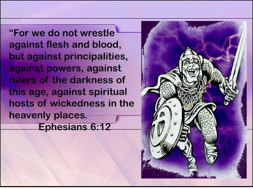 The Apostle Paul named a number of items that are part of the whole armor of God. Ephesians 6:13-18; Therefore take up the whole armor of God, that you may be able to resist in the evil day, and having done everything, to stand firm.