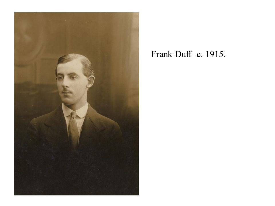 Frank Duff c. 1915.