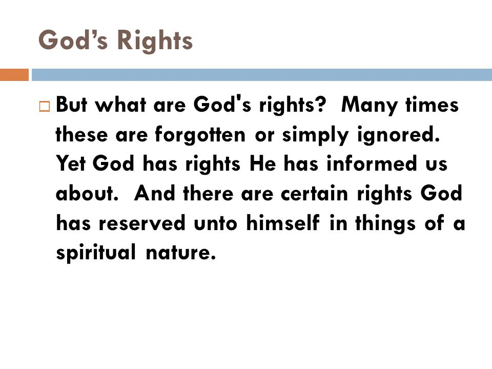 God's Rights  Right To Remit Sin - His Way  Notice how some folks say do it today.