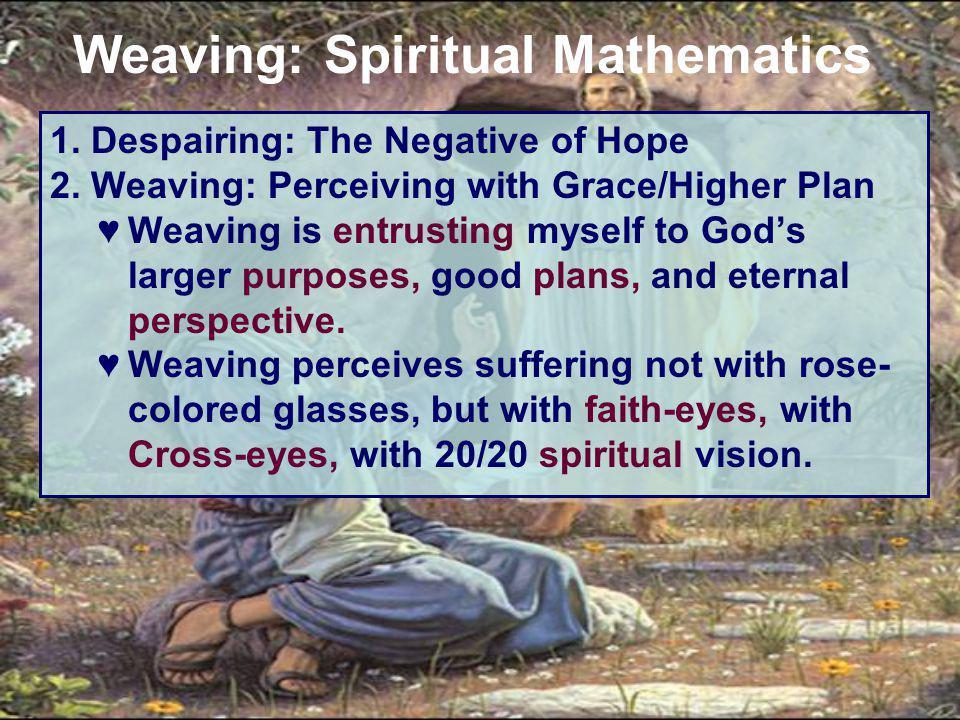 1. Despairing: The Negative of Hope 2.