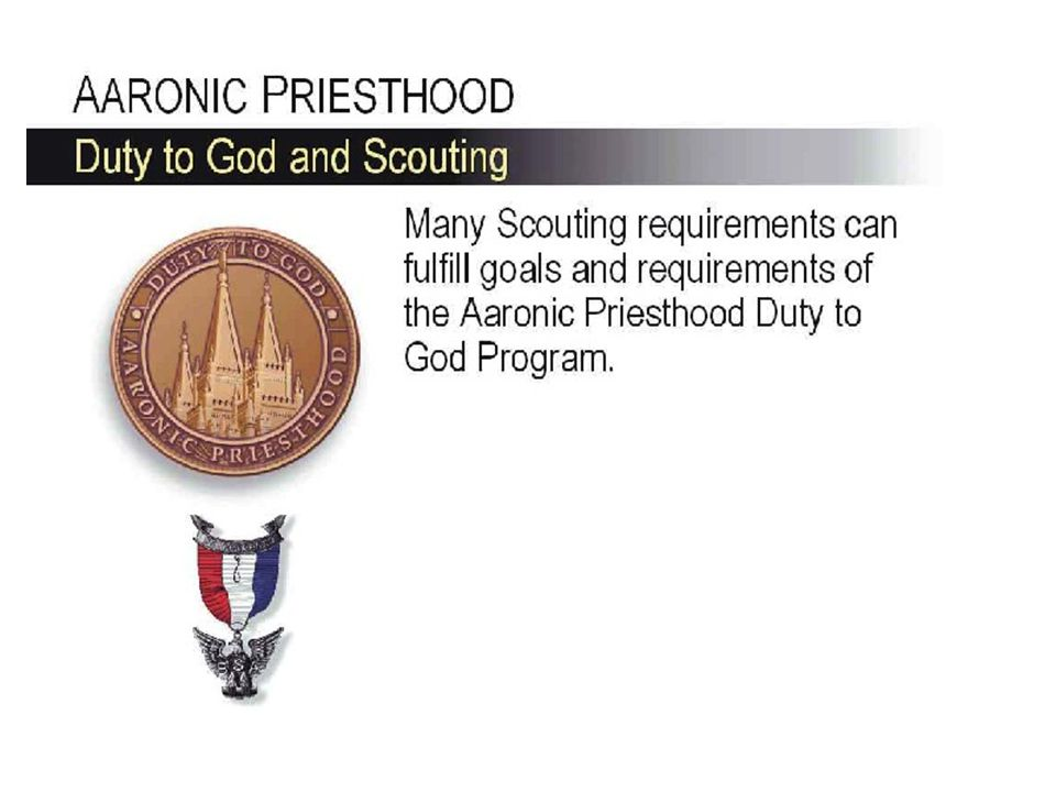 Teachers Duty to God Certificate Varsity Scout Letter Denali Award Completion will also earn the Varsity Scout Letter and complete most of the new Denali Award requirements