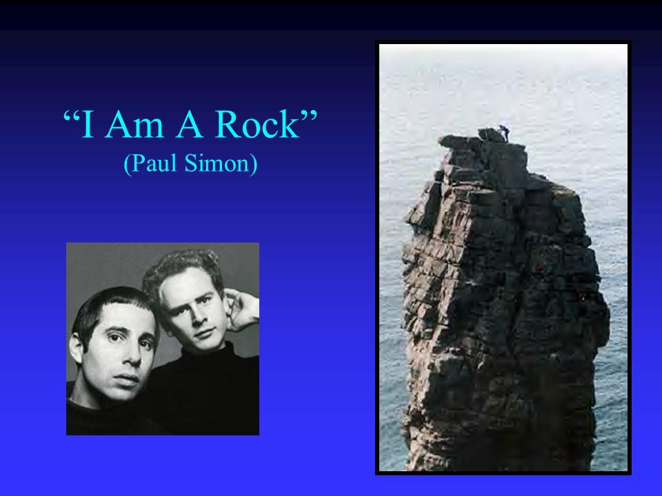 I Am A Rock (Paul Simon)