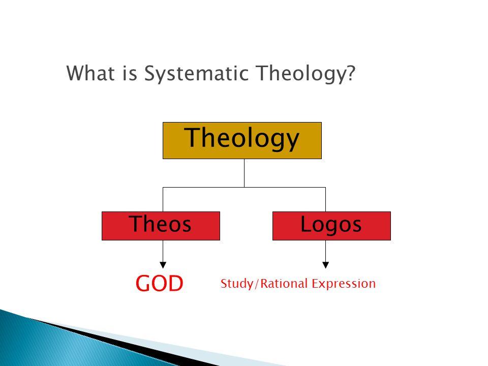 Theology TheosLogos GOD