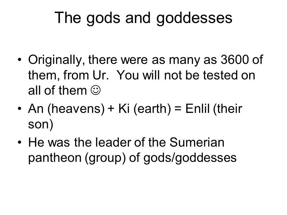 Babylon changed many names… Enlil became Marduk
