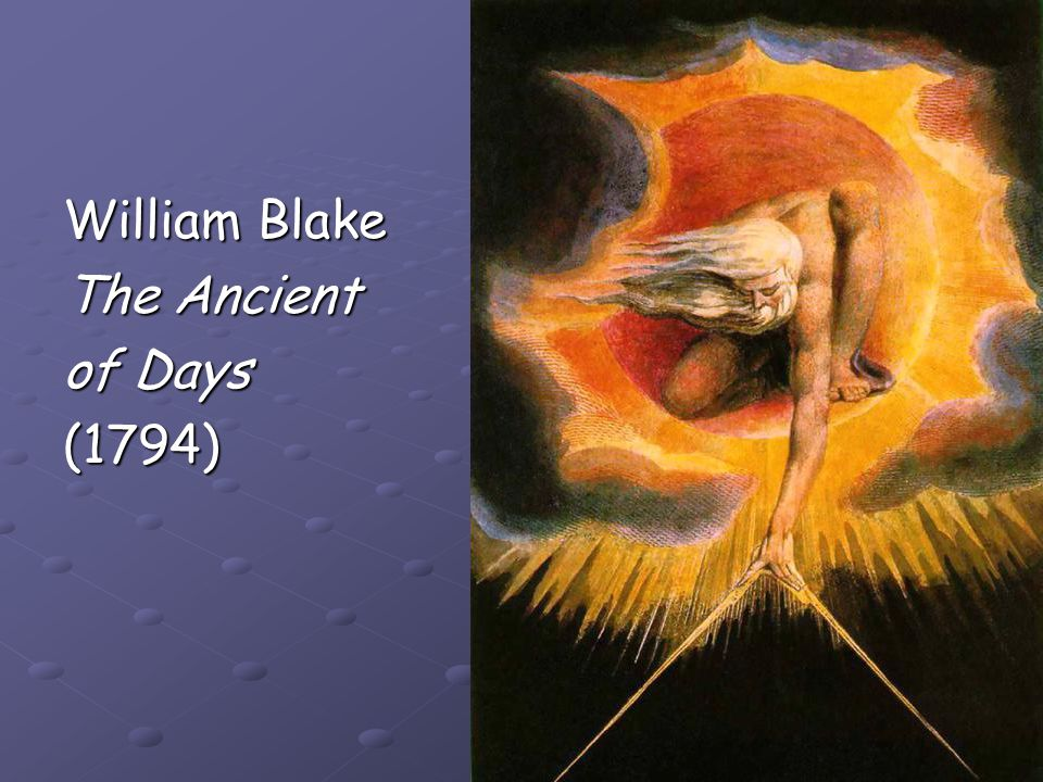 William Blake The Ancient of Days (1794)