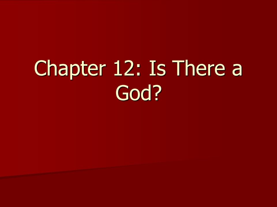 Introduction Can the existence of God be proven.Can the existence of God be proven.
