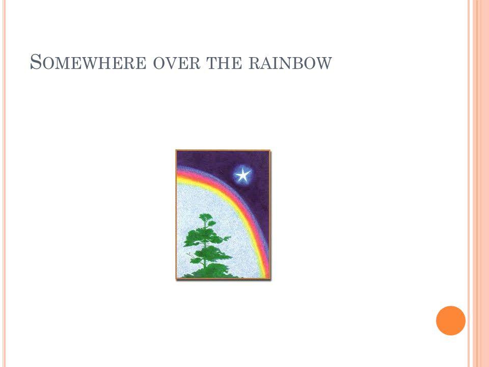 S OMEWHERE OVER THE RAINBOW