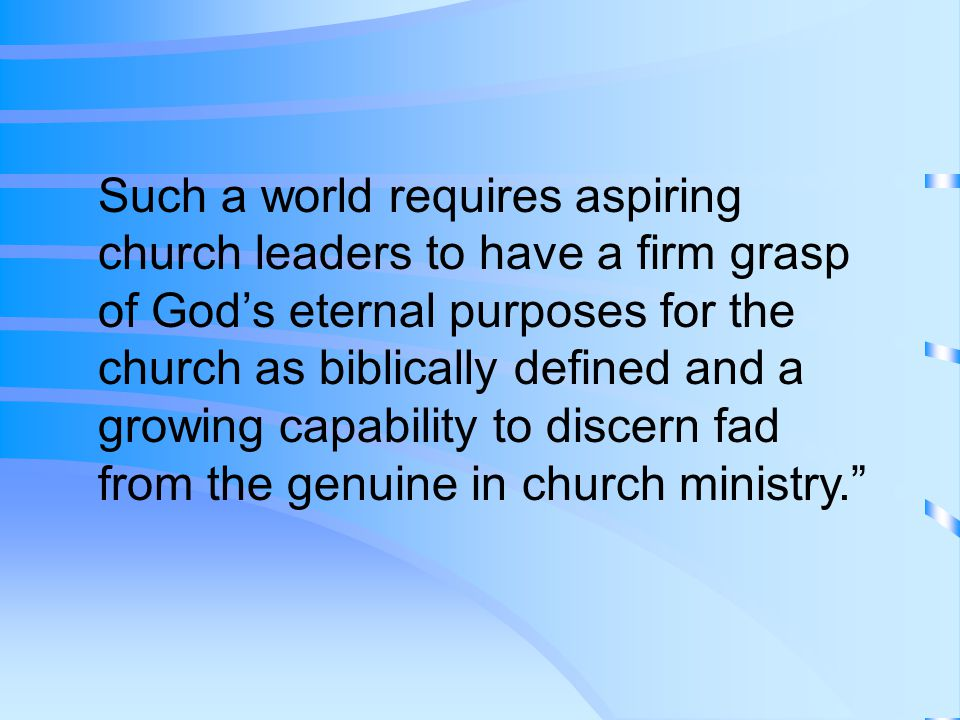 When we encounter the church, we move into spiritual territory that occupies earthly terrain.