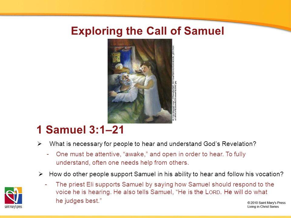 God's Revelation to Biblical People Luke 1:39–45 © campus.udayton.edu/mary/thumbnails/Novo_Quadro_02bt.jpg Genesis, chapter 32 © britlitwiki.wikispaces.com/file/view/KingDavidTripleHarp.jpg 1 Samuel 1:1—2:10 © cruciality.files.wordpress.com/2009/01/rembrant-jacob- wrestling-angel.jpg 2 Samuel 7:1–29 © art-quarter.com/beck/joe/aj/1/6/Rembrandt-mother2.jpg © allangelschurch.files.wordpress.com/2009/04/holy-spirit-stained-glass.jpg Image in public domain Genesis, chapters 40 and 41 Exodus, chapter 3