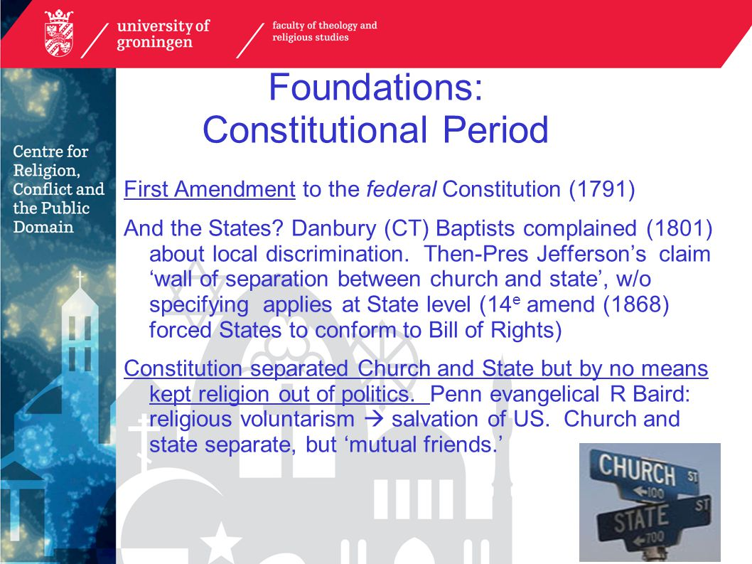 American Civil Religion religious' rituals and memorials, such as national days of remembrance, prayer services, presidential inaugurations and State of the Union addresses (Bellah 2005: 42, 49); a body of 'sacred' national documents, such as the US Constitution, the Declaration of Independence and the Pledge of Allegiance (Bellah 2005: 44); the casting of significant figures in US history (particularly Presidents) as prophets and martyrs for the nation (Bellah 2005: 48; Cherry 1971: 6–7 fn.