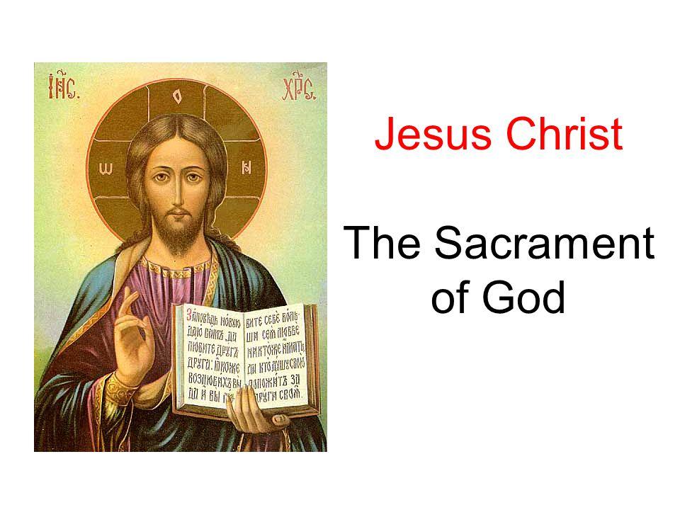 12 STM RCIA Jesus Christ: the Sacrament of God ? ? ? Q U E S T I O N S ? ? ?
